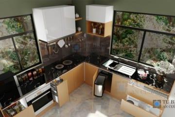 Những lý do bạn nên chọn tủ bếp laminate