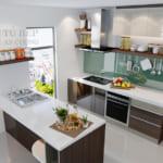 Vì sao các chuyên gia nội thất khuyên bạn nên dùng tủ bếp Acrylic